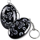 2 Pack Mengde 120db Emergency Personal Alarm Keychain for Women,Kids,Girls,Superior,Explorer Self Defense Electronic Device Bag Decoration