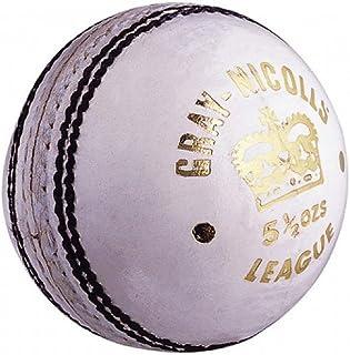 GRAY-NICOLLS League Balle de Cricket, Blanc, Junior Gray Nicolls