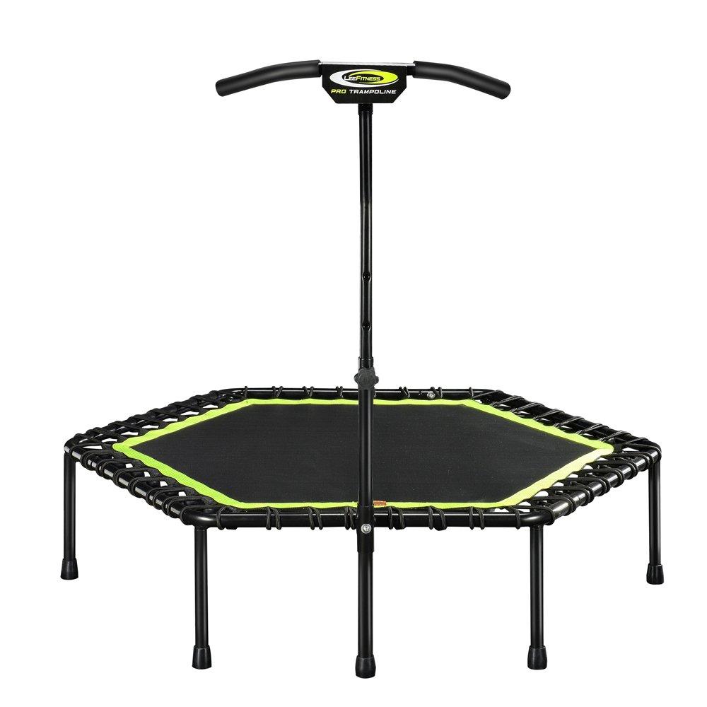 HONEI トランポリン フィットネス ゴム式 122cm 耐荷重150kg フィットネストランポリン 有酸素 運動 エクササイズ ダイエットに … (グリーン(plus))   B07FN28TQ1