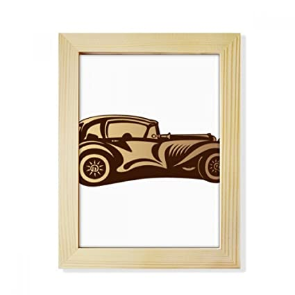 Amazon.com - DIYthinker Brown Classic Cars Silhouette Pattern ...