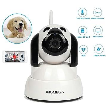 HD 720p IP Cámara Smart Perro WiFi CAM Casa Cámara De Seguridad ...