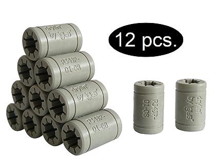 Igus - Set de cojinetes de deslizamiento para reemplazar los LM8UU ...