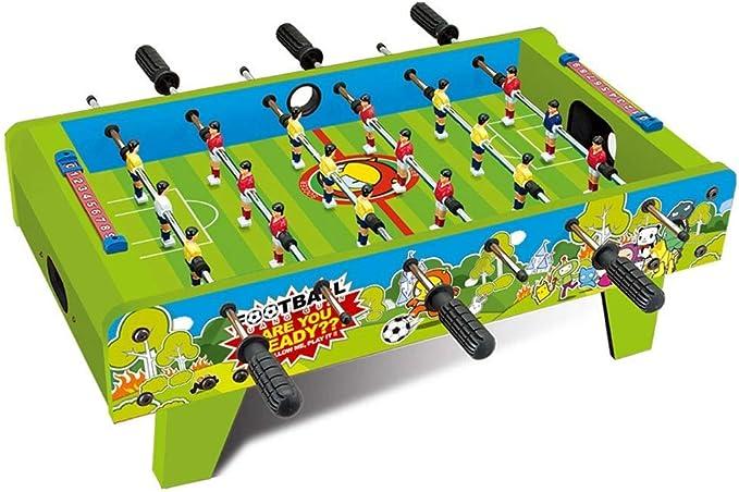 SEESEE.U Mesa de Madera para niños Futbolín Familia Ocio ...