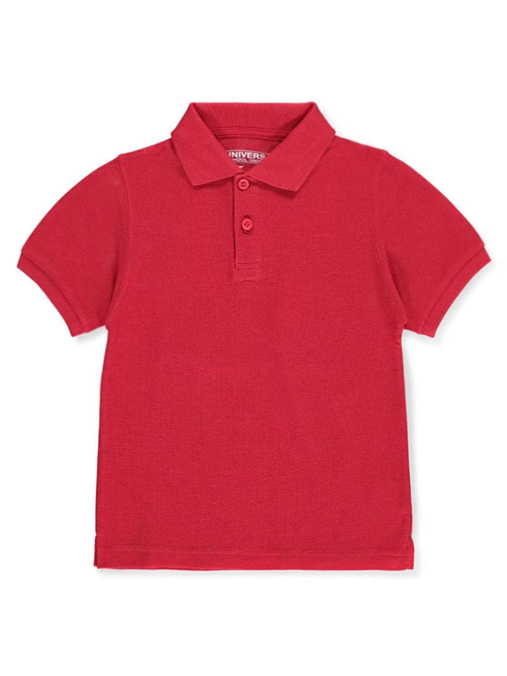 Unisex Boys Girls Short Sleeve Pique Polo Shirt w//Stain Release by Univ Sku:Staniu838RED2T; Color:RED; Size:2T 2T