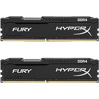 Kingston Technology HyperX Fury HX424C15FB2K2/16 16GB (2 x 8GB) PC4-19200 2400MHz DDR4 288-Pin DIMM Desktop Memory (Black)