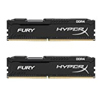 HyperX FURY DDR4 HX424C15FB2K2/16 RAM Kit 16GB (2x8GB) 2400MHz DDR4 CL15 DIMM