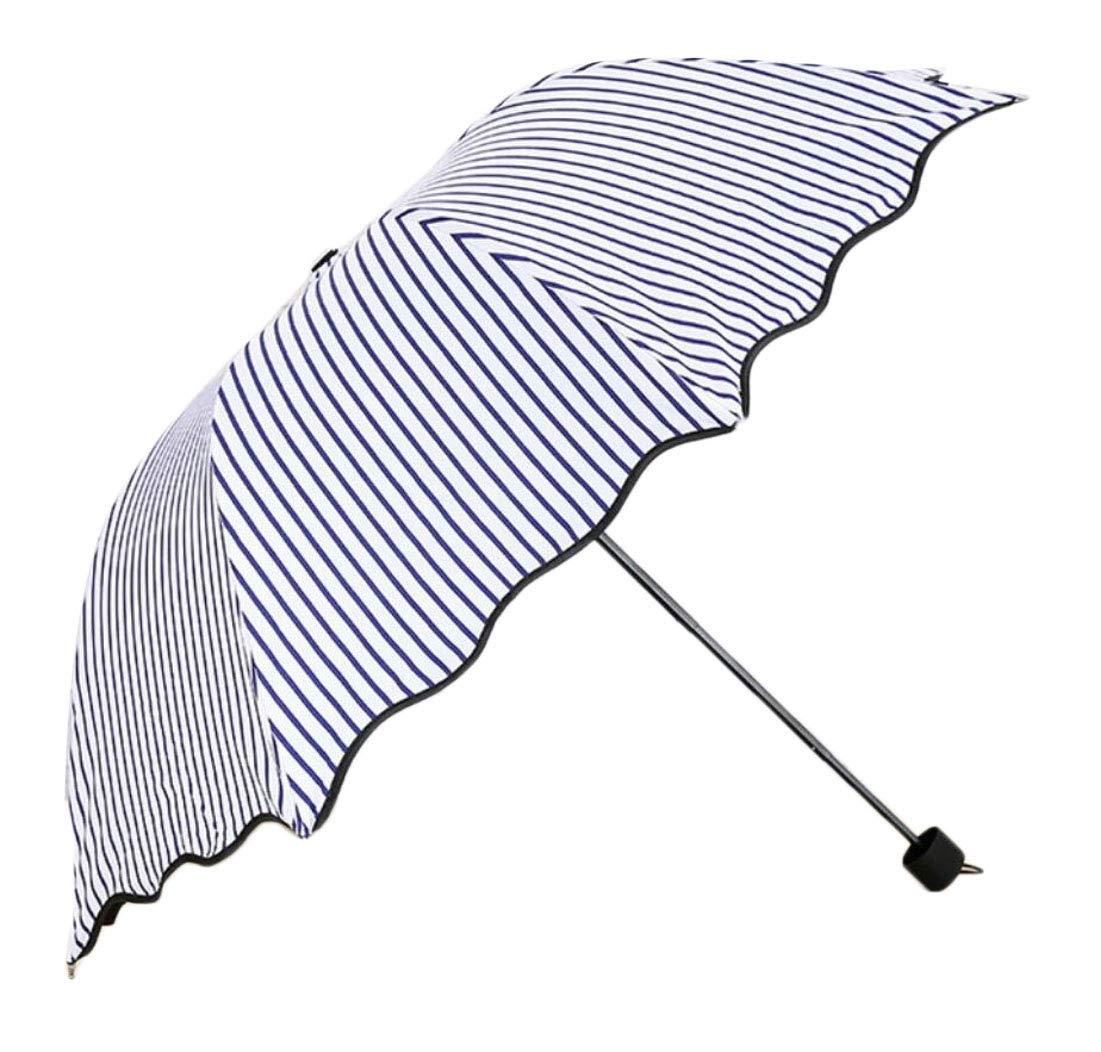 ouxiuli Waterproof Windproof Lightweight Umbrella,Compact Travel Umbrella 4 OS