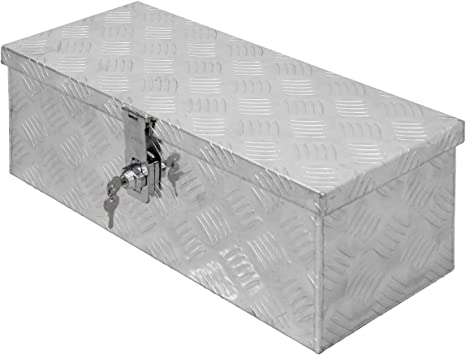 ECD Germany Caja de Aluminio Multiusos 57 x 22 x 19 cm Resistente a la Corrosión