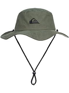 dec72062e4e9 Quiksilver Men's Bushmaster M Hats Kvj0 Flat Cap: Quiksilver: Amazon ...