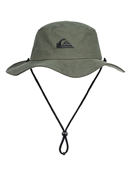 fb93ee83fa621 greece quiksilver bushmaster hat small medium black 9708a fefc5  promo code quiksilver  bushmaster bucket hat for men bucket hat men brown 53f97 f5834