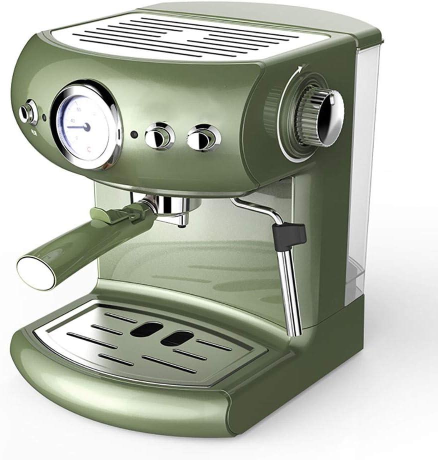 RLIRLI Cafetera Exprés Vintage con Espuma De Vapor Incorporada ...