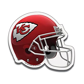 NFL Kansas City Chiefs Football Helmet Design Mouse Pad