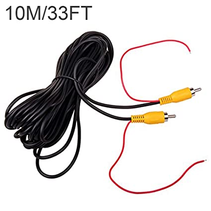 Amazon.com: Car RCA Video Extension Cable for Auto Backup Camera ...
