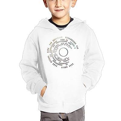 Dw5 Hoodies Stripes Round Colortone Infant Boys Girls Comfort Pullover With Pocket Hoodies Crew Neck Sweatshirt