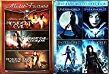 Underworld Quadrilogy + Resident Evil Trilogy monster movie Set Zombies - Vampires & Lycans