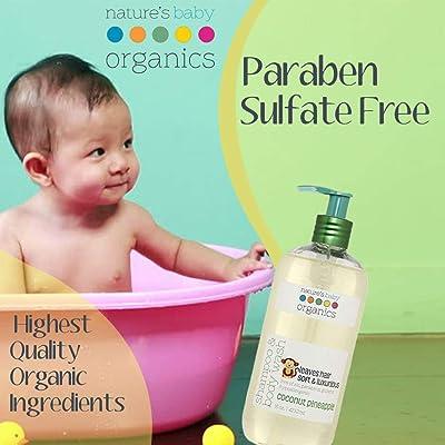 Nature's Baby Organics Baby 3-in-1 Shampoo