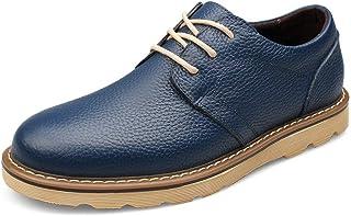 Willsego Ragazzo's Lace-up cap-Toe Outdoor Blu Scuro Business Oxfords UK 9 (Colore : -, Dimensione : -)