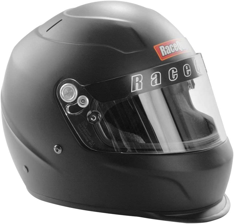 Snell SA-2015 Rated RaceQuip 273662 Gloss Steel Small PRO15 Full Face Helmet