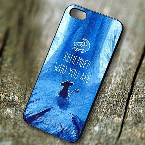 Classy Disney blue art simba for Cover Iphone 7 case A7E2WG