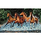 Dimensions Needlecrafts Counted Cross Stitch, Galloping Horses