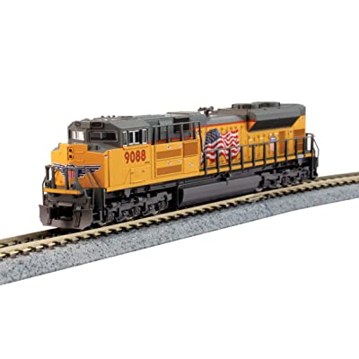 Kato N Scale SD70ACe Union Pacific #9088 DC DCC Ready: Toys & Games