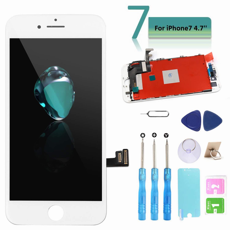 Ibaye - Táctil LCD Reemplazo para iPhone 7 4.7 Pantalla de Repuesto con Herramientas