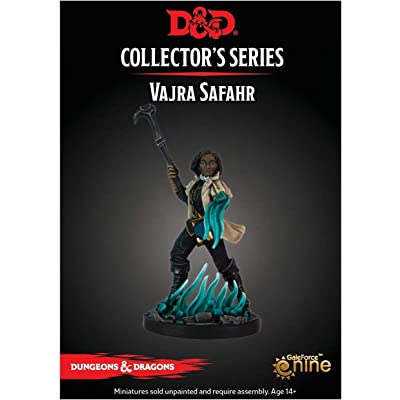 Dungeons & Dragons Dragon Heist: Vajra SAFAHR Collector's Series Miniature: Toys & Games