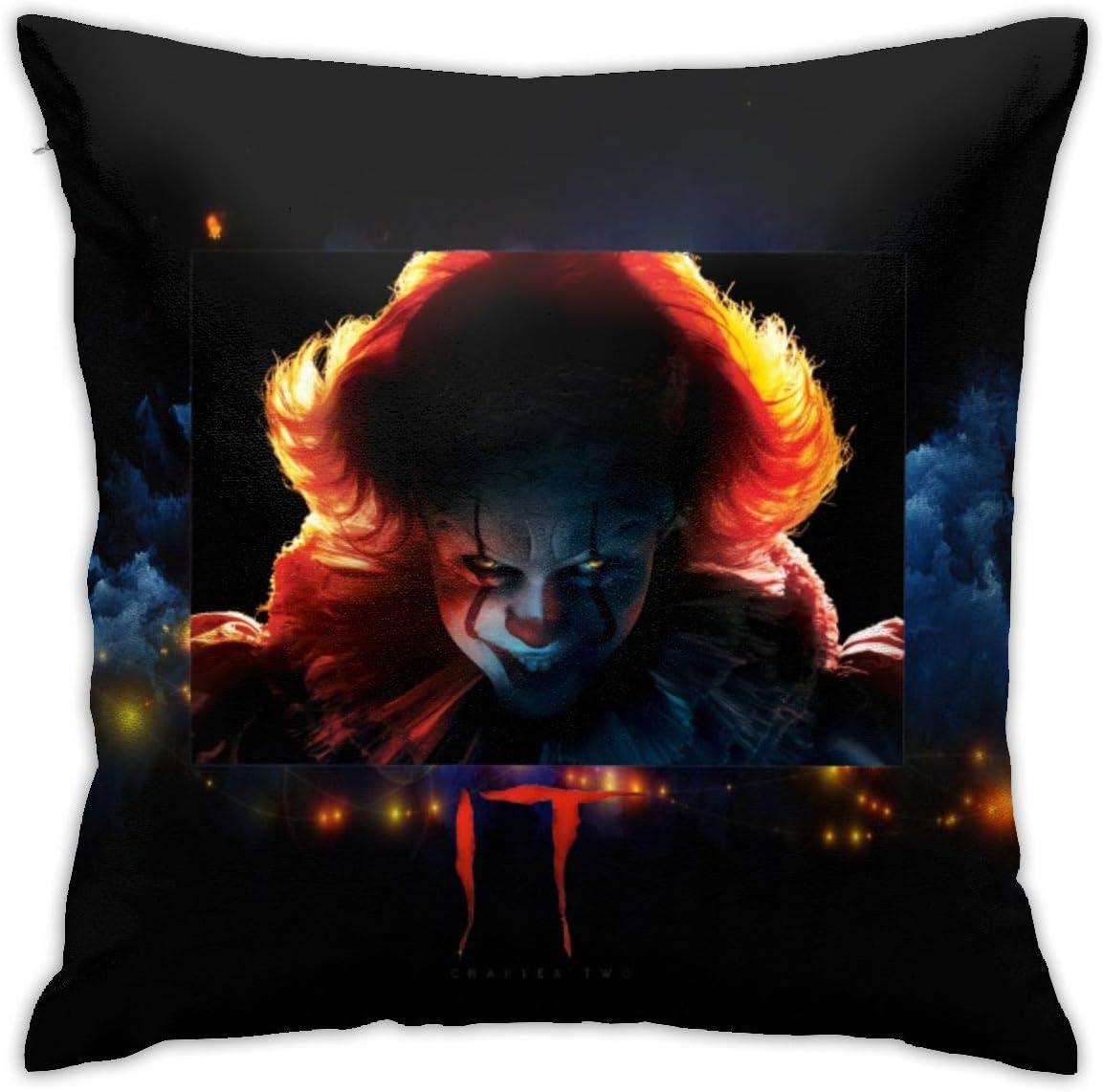 XCNGG Funda de almohadaHorror Scary Movie Villains Pillowcase 45cm 45cm