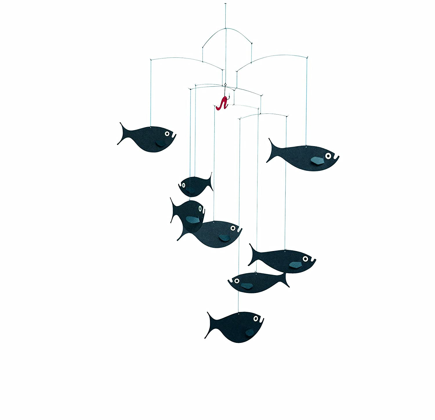 flensted mobilesflensted mobile shoal of fish amazonca baby -