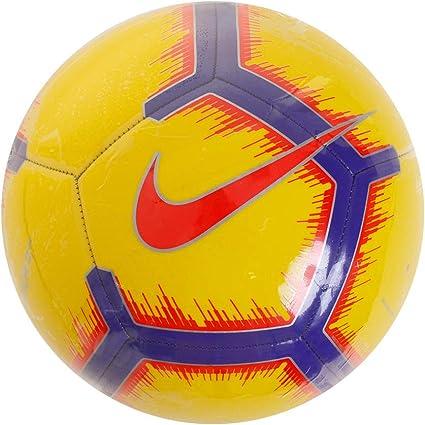 Nike Pitch - Balón de fútbol - SC3316-710, 5, Yellow/Purple ...