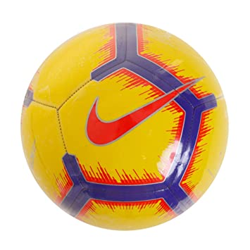 Nike Pitch - Balón de fútbol - SC3316-710, 5, Yellow/Purple ...