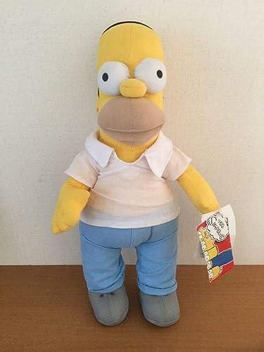 Amazon The Simpsons シンプソンズ ホーマーシンプソンキャラクタードール人形ぬいぐるみ高さ 40cm ぬいぐるみ ホビー