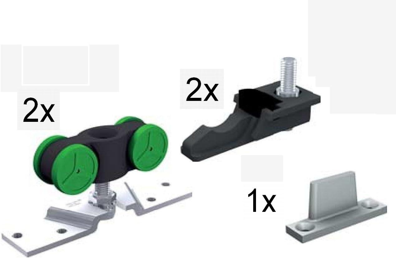 MINI SPORT MA40 - roues porte coulissante: Amazon.es: Bricolaje y herramientas