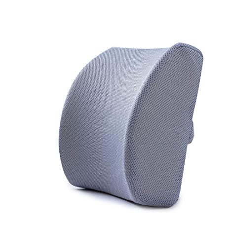 Amazon.com : Memory Cotton Lumbar Pillow firmeza equilibrada ...