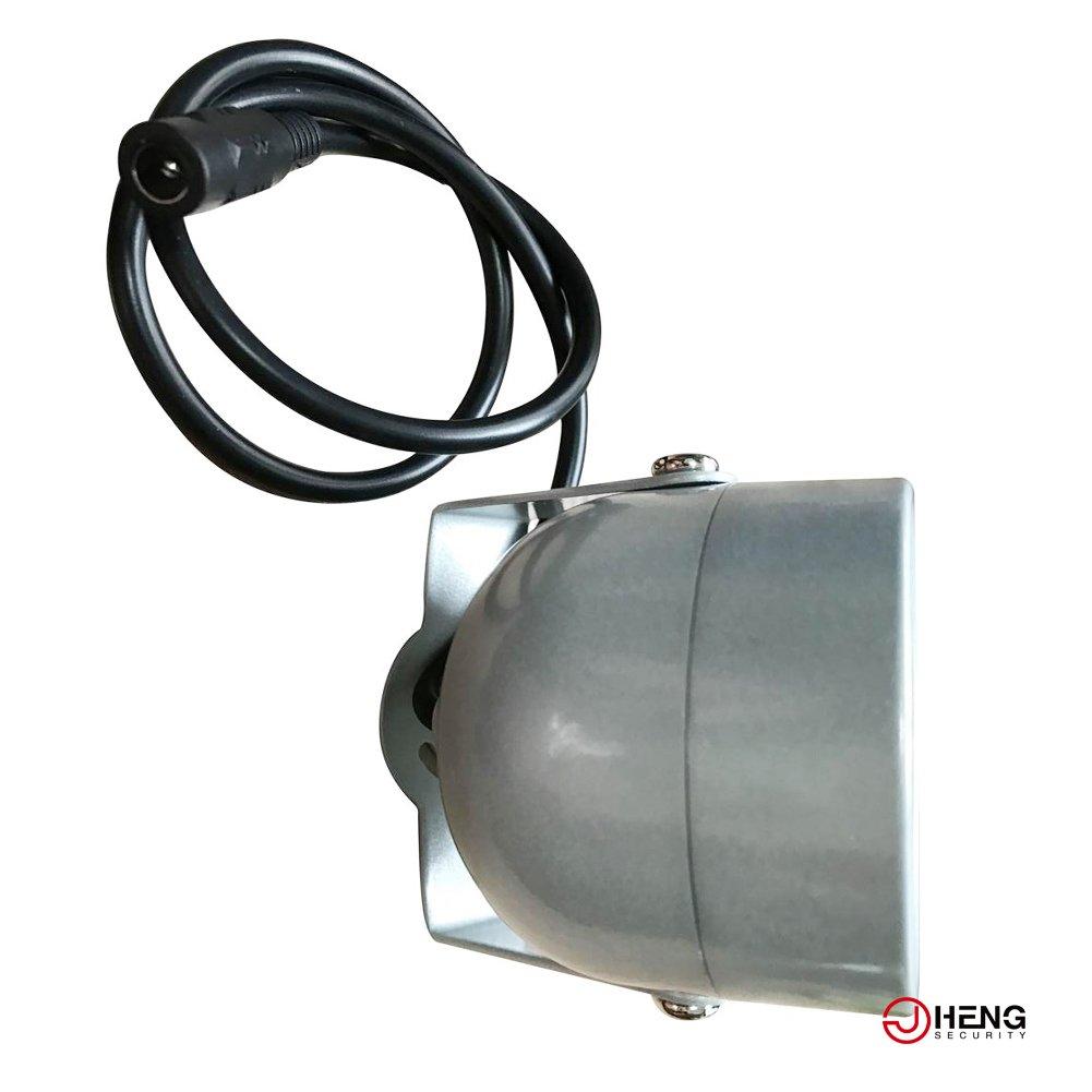JCHENG SECURITY 4pcs High Power LED IR Array Illuminator IR Lamp Wide Angle for Night Vision CCTV and IP Camera