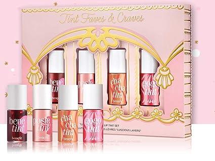 BENEFIT - Juego de tinte para labios con diseño de hojas y ...