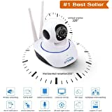 Brobeat Wireless HD IP Wifi CCTV Indoor Security Camera Stream Live Video In Mobile or Laptop - White