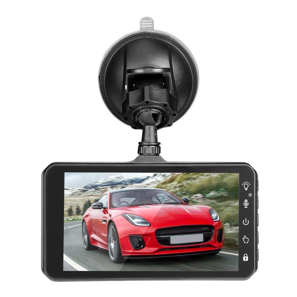 4in Touch Screen Dual Lens HD 1080P Car DVR Camera Video Recorder Dash Cam
