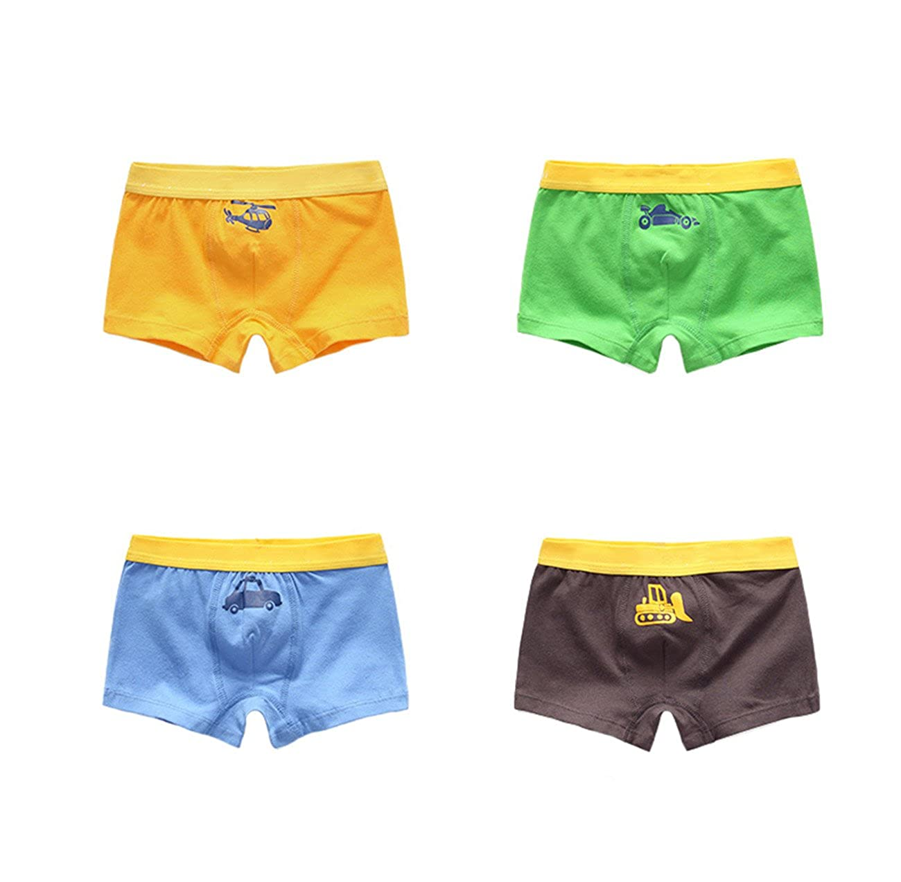 Babyicon Baby Jungen 1-7 Jahre Kinder Unterwäsche Boxershorts Unterhose Slip