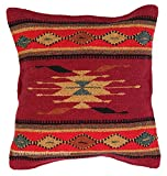El Paso Designs Aztec Throw Pillow Covers, 18 X 18, Hand Woven in Southwest and Native American Styles. 13