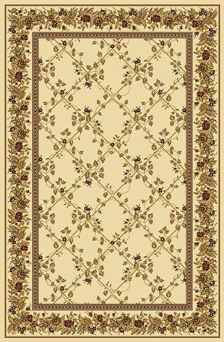 Radici 1427 NOBLE Rugs, 9-Feet 10 by 12-Feet 10-Feet, Ivory - Ivory Noble Traditional Rug