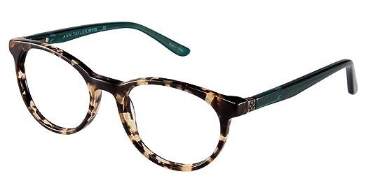 Ann Taylor ATP803 Eyeglass Frames - Frame TORTOISE/TEAL, Size 48 ...