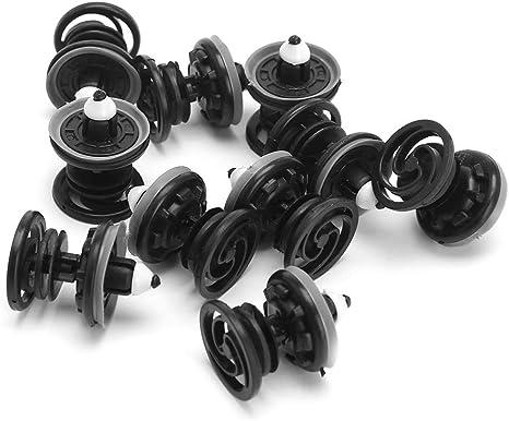 10 Stück Auto Innentürverkleidung Verkleidung Push Fastener Clips Für Vw Passat Golf Gti Polo Audi Küche Haushalt