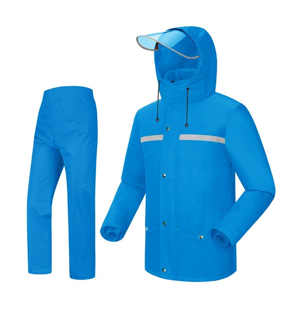 Wasserdichte Mode Regenmantel Split Erwachsenen Walking Poncho (größe (größe (größe   M) B07FBGNX4B Jacken Hohe Qualität und geringer Aufwand c0bde1