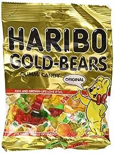 Haribo Gummi Candy Gold-Bears, 5-Ounce Bag