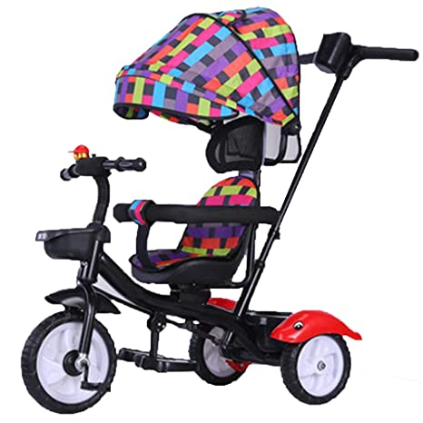Axdwfd Infantiles Bicicletas Triciclo de niños Rueda vacía ...