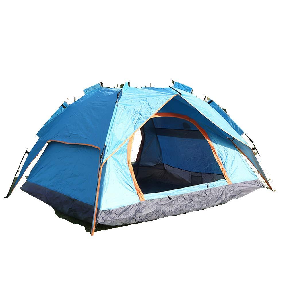 Campingzelt für,Automatisches Schnellöffnungszel,5 Personen,leicht zu transportieren mit Tragetasche