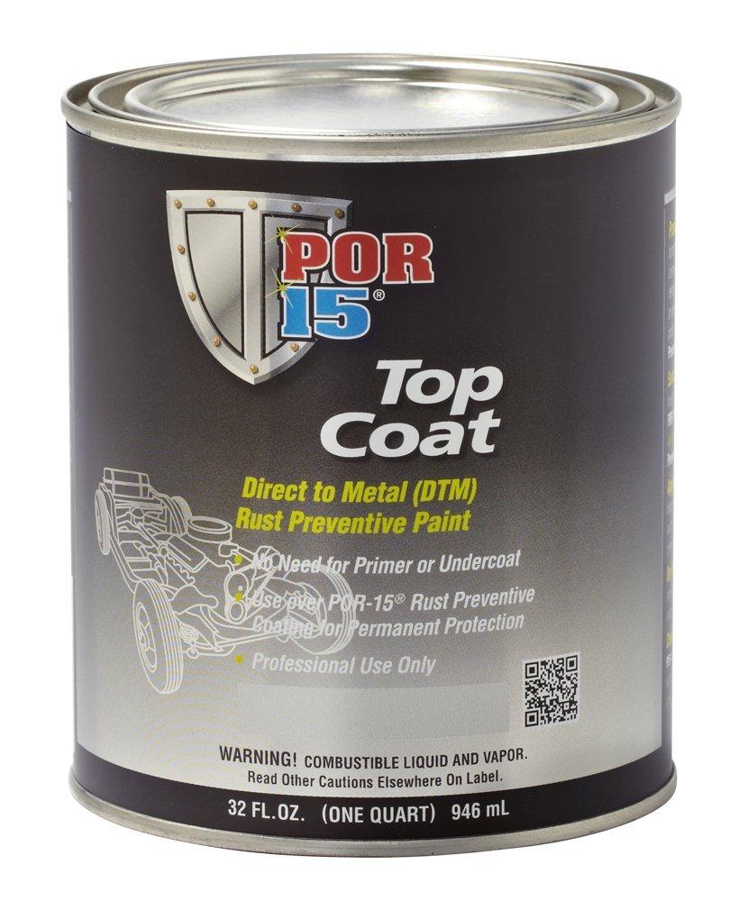 POR-15 46604 Gray Top Coat Primer - 1 quart