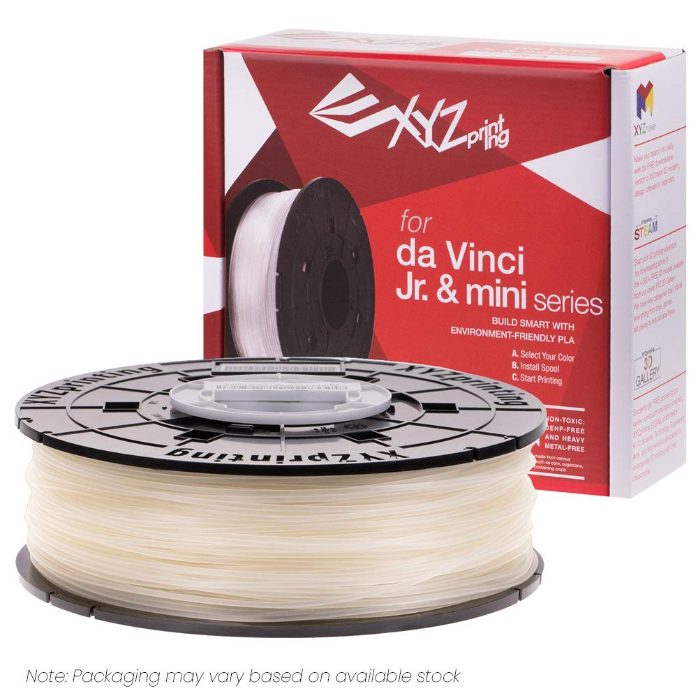 /& mini Series Filament 600 g XYZprinting RFPLCXUS01A da Vinci Jr NFC PLA Black