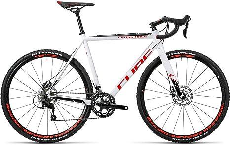 Bicicleta de carretera CUBE Cross Race 2016-H 53 cm: Amazon.es ...